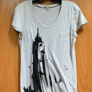 Used Burberry Brit graphic T-shirt